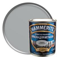 Краска гладкая Hammerite цвет серебристый 0.75 л