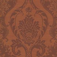 Обои бумажные Ashford House Classics Special Edition коричневые 0.53 м GE9437