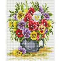 Алмазная мозаика Белоснежка Цветочное счастье 419-ST-PS