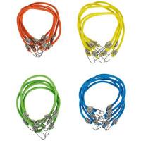 Набор верёвок эластичных Standers, 25x0.4 см, 9 кг, 20 шт.
