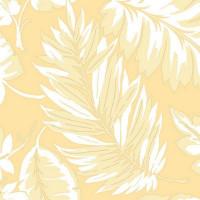 Обои виниловые Aura Paradise жёлтые 0.53 м PA34258