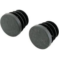 Заглушка для штанги НСХ o25 мм, цвет чёрный, 2 шт.
