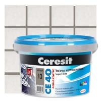 Затирка Ceresit СЕ40 2кг антрацит