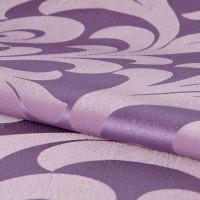 Ткань «Вензель» 1 п/м 145 см жаккард цвет сиреневый