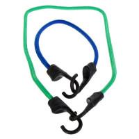Набор эластичных веревок с крюками 0.25-0.8 м, 14 шт.