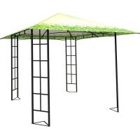 Шатер садовый Ажур 3х3х2.65 м Ажур сталь зеленый (без штор)