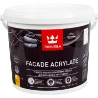 Краска фасадная Facade Acrylate 5 л цвет белый