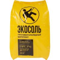 Антигололедный реагент «Экосоль» 20 кг