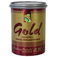 Эмаль акриловая перламутровое золото Р-117 0.9 л