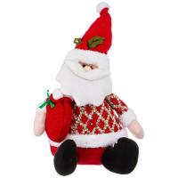 Декоративная фигурка Lefard Дед Мороз с мешочком подарков 476-113