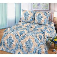 Комплект постельного белья MILANIKA Роскошь двуспальный, бязь, 70x70 см