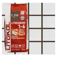 Затирка цементная Litochrom1-6 C.200 венге 2кг