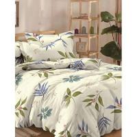 Комплект постельного белья евро Текстильная лавка Веточки , микрофибра