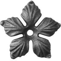 Элемент кованый штамповка Цветок большой