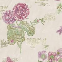 Обои виниловые Aura Paradise фиолетовые 0.53 м PA34247