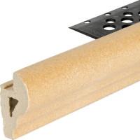 Профиль закладной №244 для ступени 5х36 см цвет коричневый