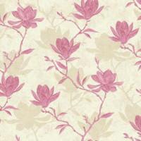 Обои бумажные Ashford House Botanical Fantasy розовые 0.70 м WB5455