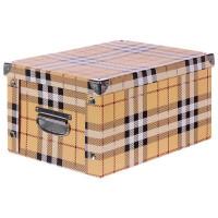Коробка картон 40x30x20 см, клетка