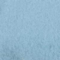 Плед 110x150 см флис цвет голубой