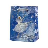 Пакет подарочный «Балерина» 18x23 см