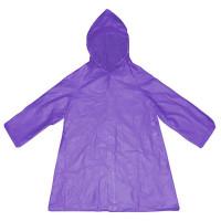 Плащ-дождевик детский, размер S, цвет фиолетовый
