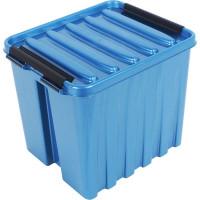 Контейнер Rox Box 21х17x18 см, 4.5 л, пластик цвет синий с крышкой