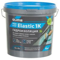 Гидроизоляция Glims Водоstop Elastik 4 кг