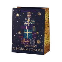 Пакет подарочный «Подарки» 18x23 см