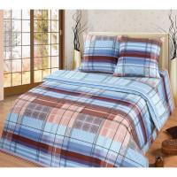 Комплект постельного белья MILANIKA Ромэо двуспальный, бязь, 70x70 см