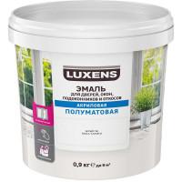 Эмаль для окон Luxens цвет белый 0.9 кг