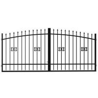 Ворота Лаура 3.6х1.6 м с регулируемыми петлями