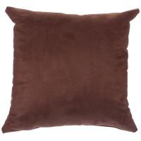 Подушка декоративная «Манчестер» 40х40 см цвет шоколадный