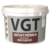 Шпаклёвка фасадная VGT акриловая 18 кг