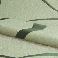 Ткань «Абстракция» 1 п/м 280 см блэкаут цвет зелёный