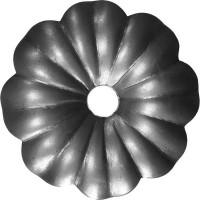 Элемент кованый штамповка Цветок малый