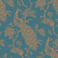 Обои флизелиновые Ronald Redding Sculptured Surfaces I синие 0.70 м RD3556