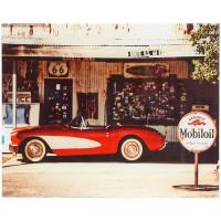 Картина на стекле 40х50 см «Corvette car»
