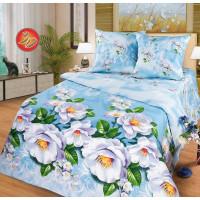 Комплект постельного белья MILANIKA Зефир двуспальный, поплин