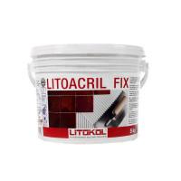 Клей для плитки готовый Litokol Litoacril Fix, 5 кг
