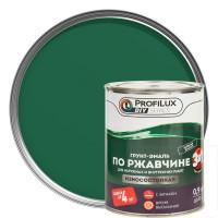 Эмаль по ржавчине 3в1 цвет зелёный 0.9 кг