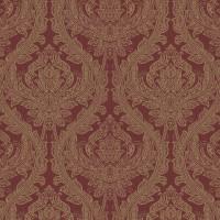 Обои текстильные Aura Victoria красные 0.53 м 070148