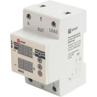 Реле напряжения и тока EKF MRVA 50A с дисплеем