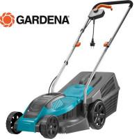Газонокосилка электрическая Gardena PowerMax 1100/32, 1100 Вт, 32 см