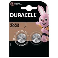 Батарейка литиевая Duracell CR2025, 2 шт.