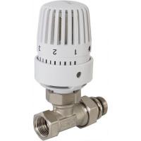 """Комплект терморегулирующий Heizen 1/2 """"34; прямой, для радиатора"""