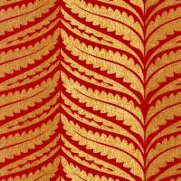 Обои бумажные Ashford House Flowers Special Edition красные 0.53 м WU0766