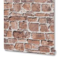 Обои виниловые Rasch Tiles Kongoleum красные 0.53 м 402612