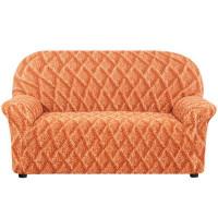 Чехол для двухместного дивана Еврочехол Виста 6/38-2, от 100 до 160 см