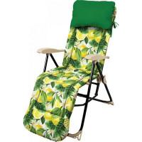 Кресло-шезлонг HHK5/L 58.5x82x117 см металл/ПВХ мультиколор