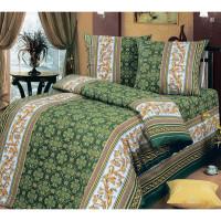 Комплект постельного белья MILANIKA Аристократ двуспальный, бязь, 70x70 см